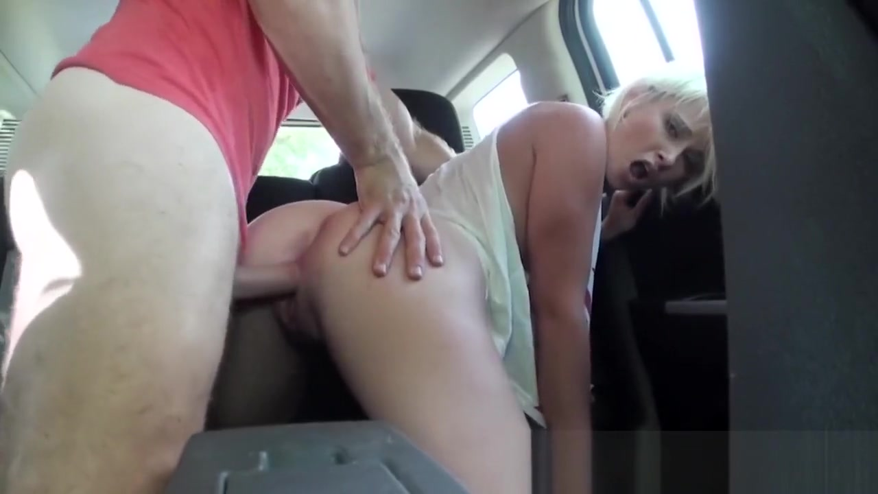 Stranded Teens - Dani Desire sucks cock in traffic chinese massage happy ending