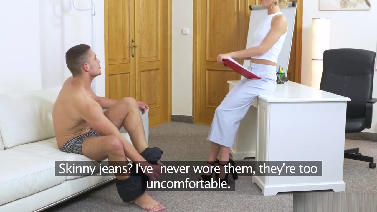 Blonde lesbian masseuse tribbing till orgasm Sexy Video
