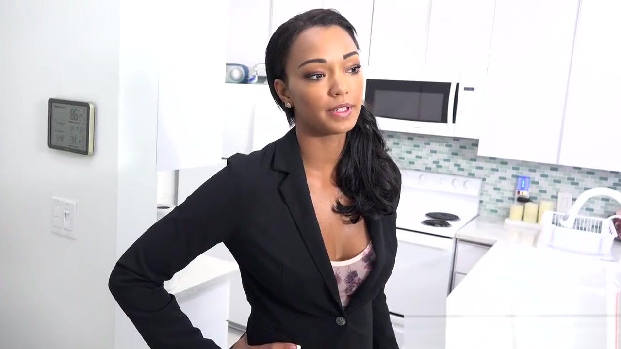 Quality porn Ebony babe hardcore