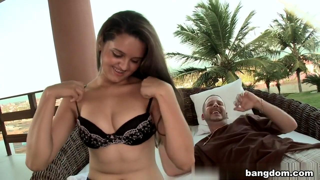 XXX Porn tube Pitbull polka dot bikini