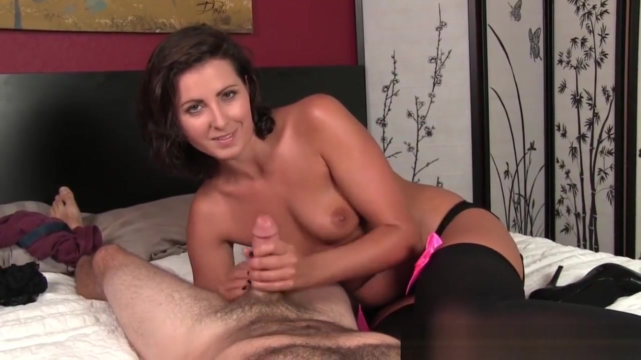 Handjob Milf Milking Cock In Stockings Dating someone who has no money
