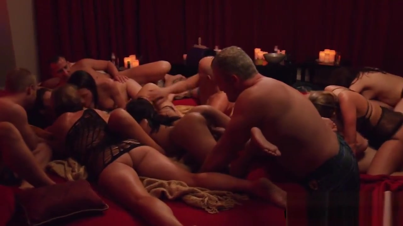 Amazing Swinger Couples Satisfying Each Other In Red Room