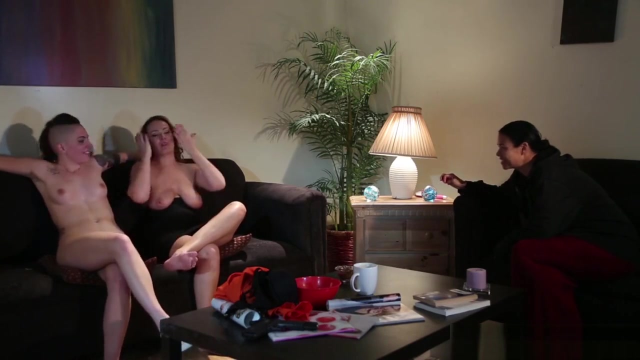 Lesbians snahbrandy by Mature outdoor