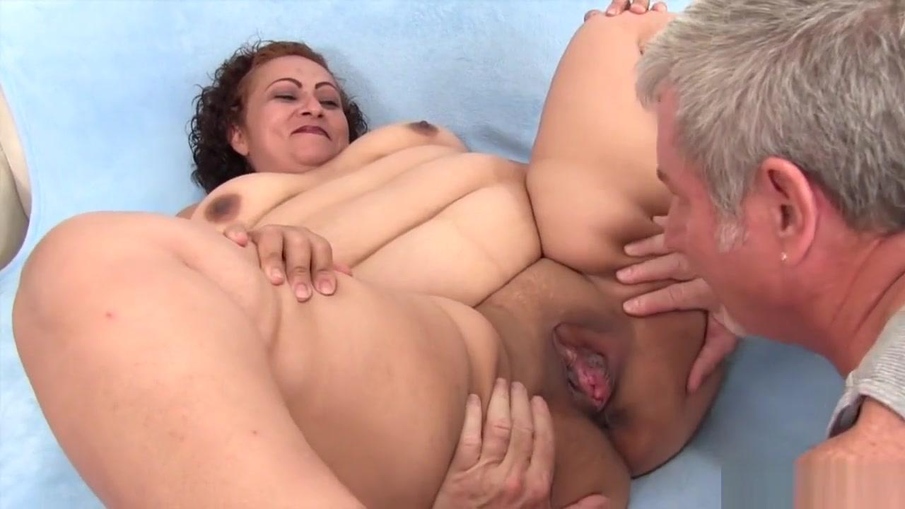 Seducing Old Lady Sexy Photo