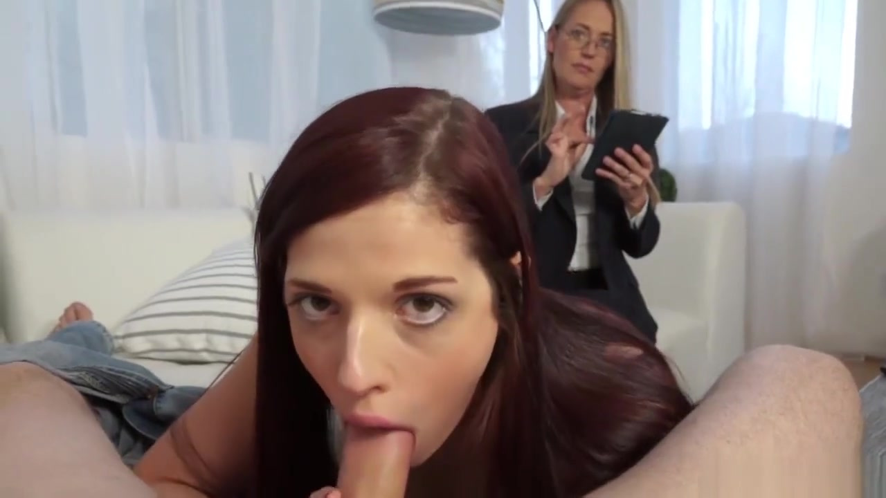 Scarlett Mae Takes Advice From A Pervy Sex Therapist sexy teacher in stockings
