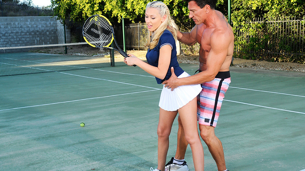 Katie Summers & Marco Banderas in Naughty Athletics hot first nights photos