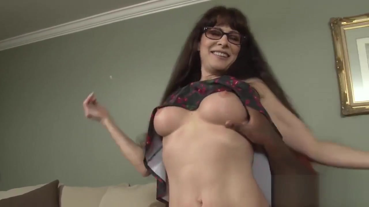 Long-haired Milf Bounces Hard On A Bbc