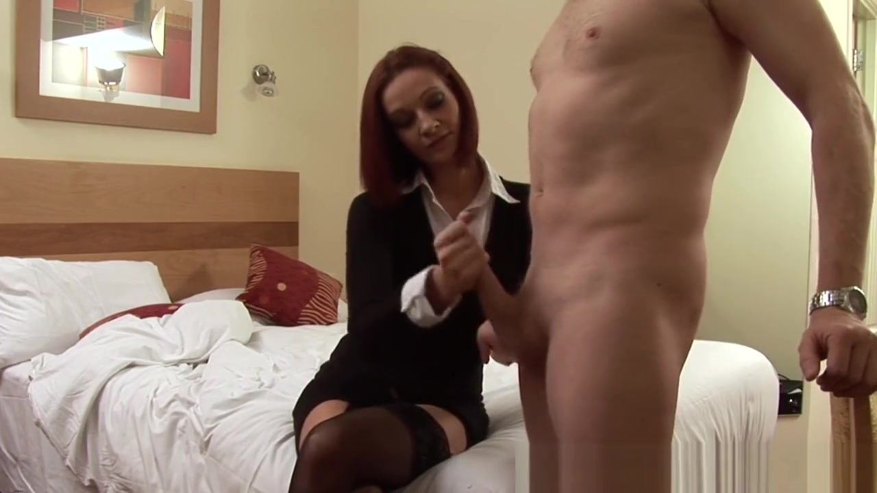 Classy Cfnm Redhead Jerking Off Lucky Cock Fun chat rooms