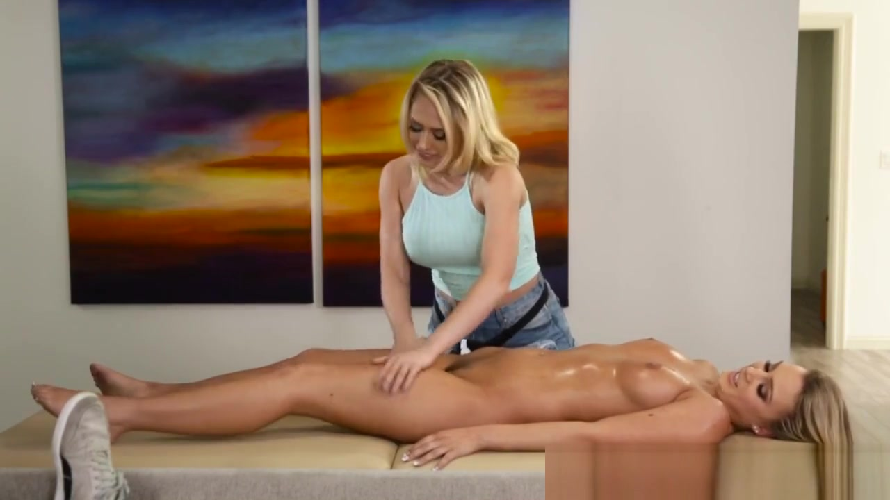 Pretty Masseuse Tribbing Orgy one lucky guy girls