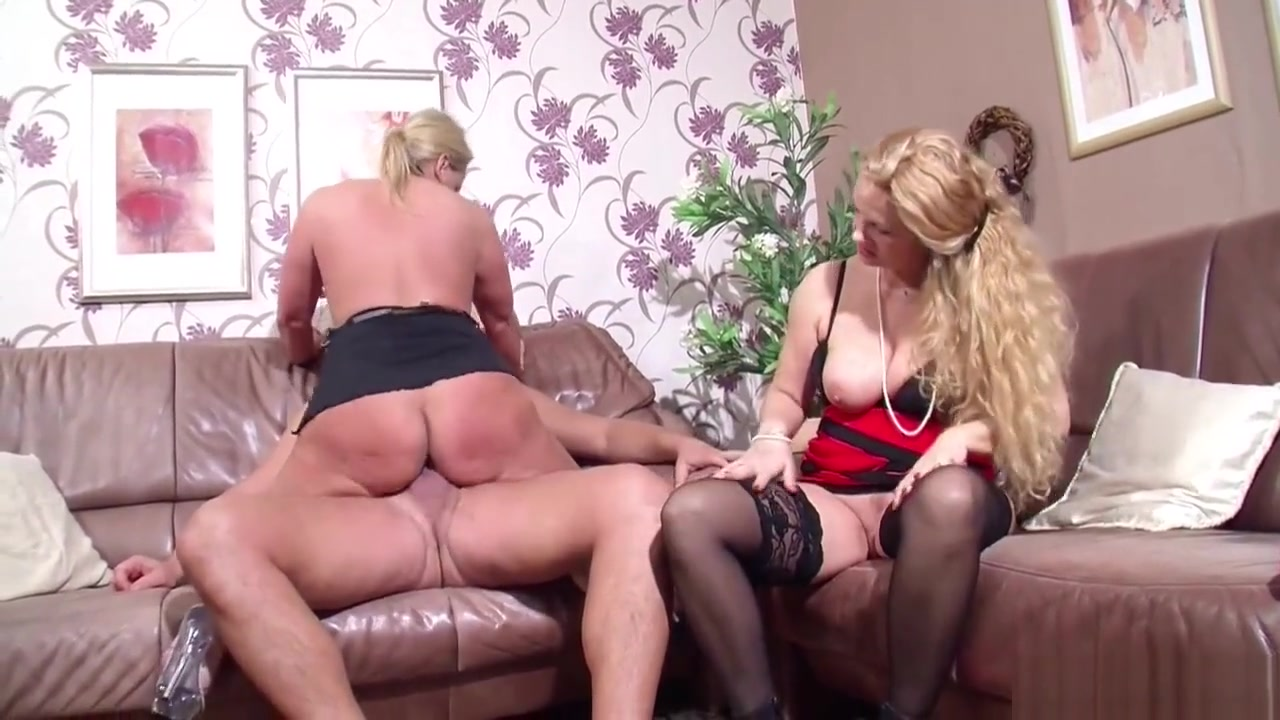 German Wife Suprise His Husband With Threesome With Milf Old pervert and young girl