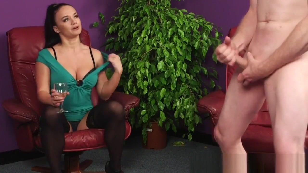 Cfnm Brunette Mocks Loser hot women getting dressed