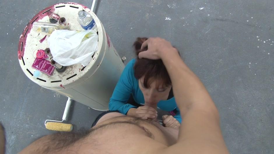 Sexy Video Ebony granny creampie