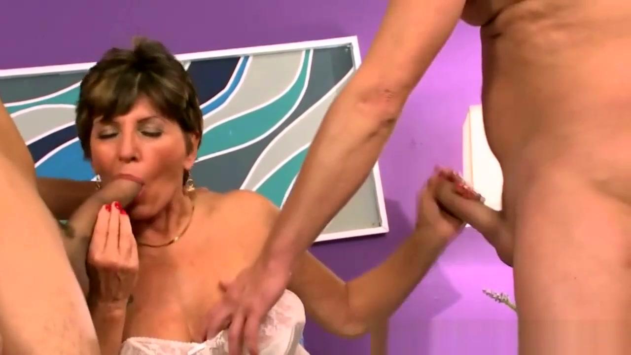 granny lesbian strapon anal Porn clips