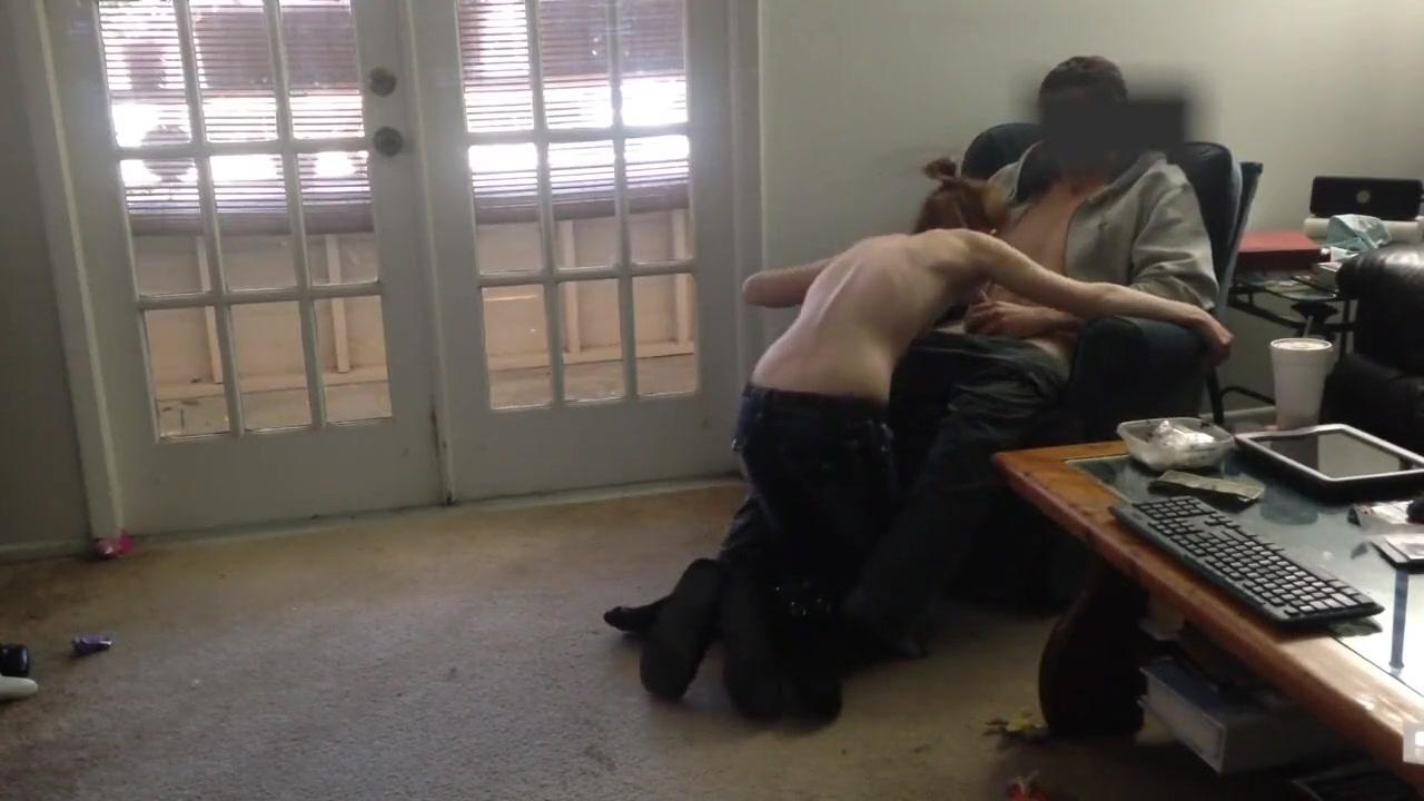 Blonde Girlfriend Alexa Grace Cheats with BBC woman on top facing away sex positions