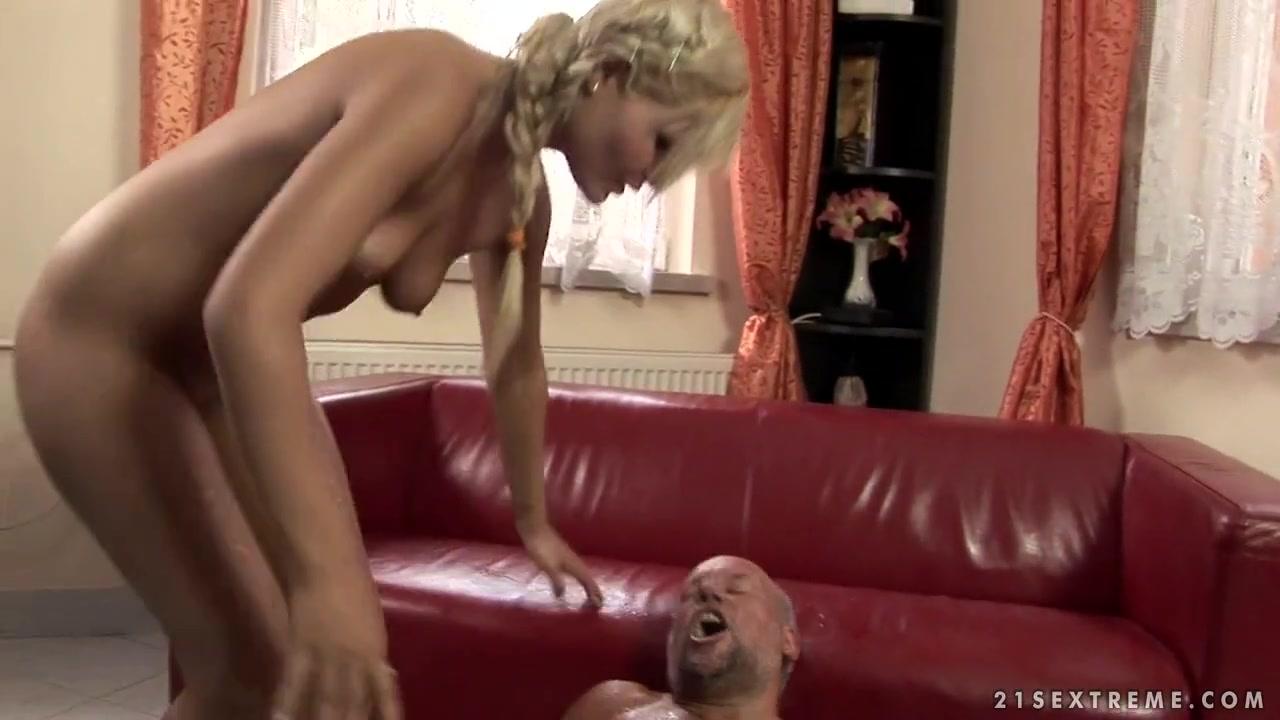 Naked xXx Hot interracial lesbian scene outdoor