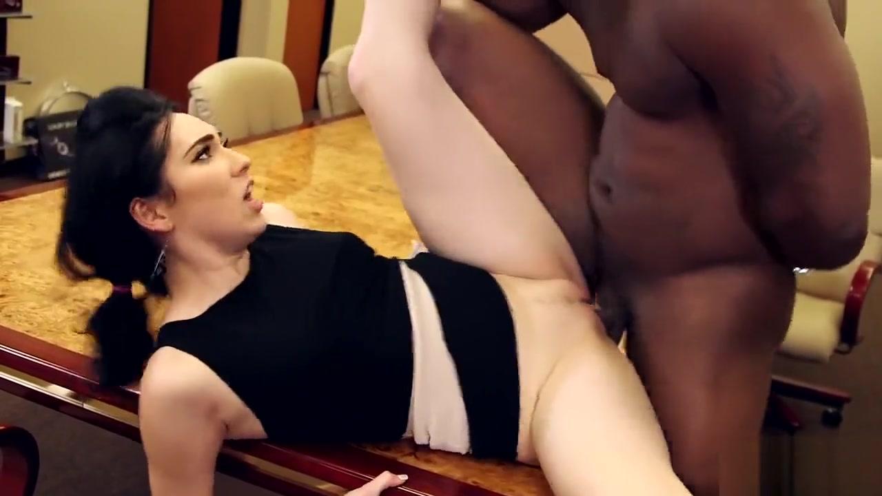 Aria Alexander Fucks Her Black Bos
