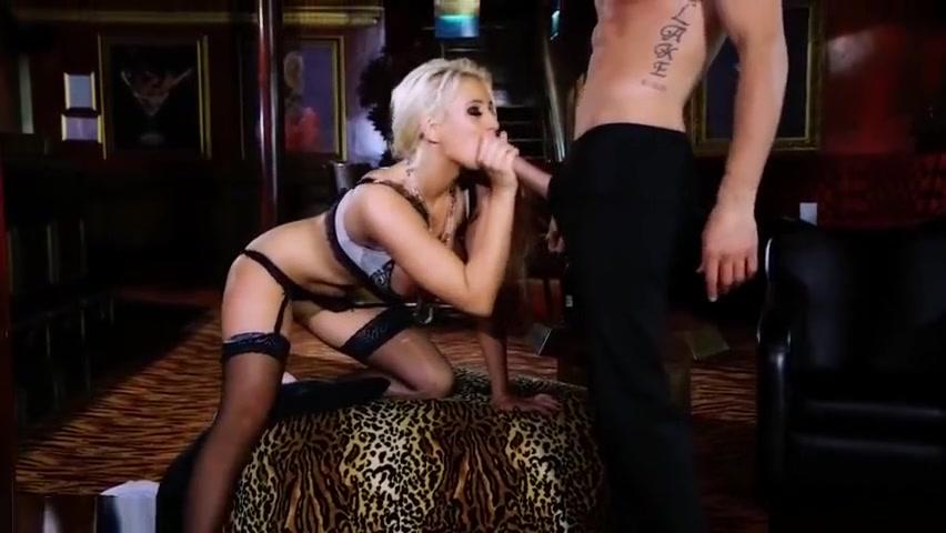 Adult Videos Woman wearing black lingerie brunette