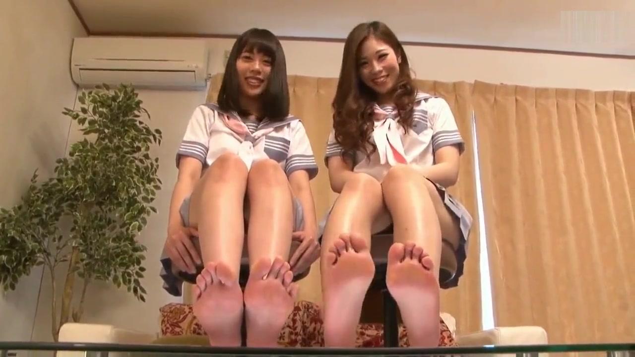 Hot Asian soles