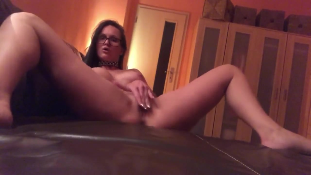 Barbara Bieber - Sofa Dance Woman naked with massive boobs
