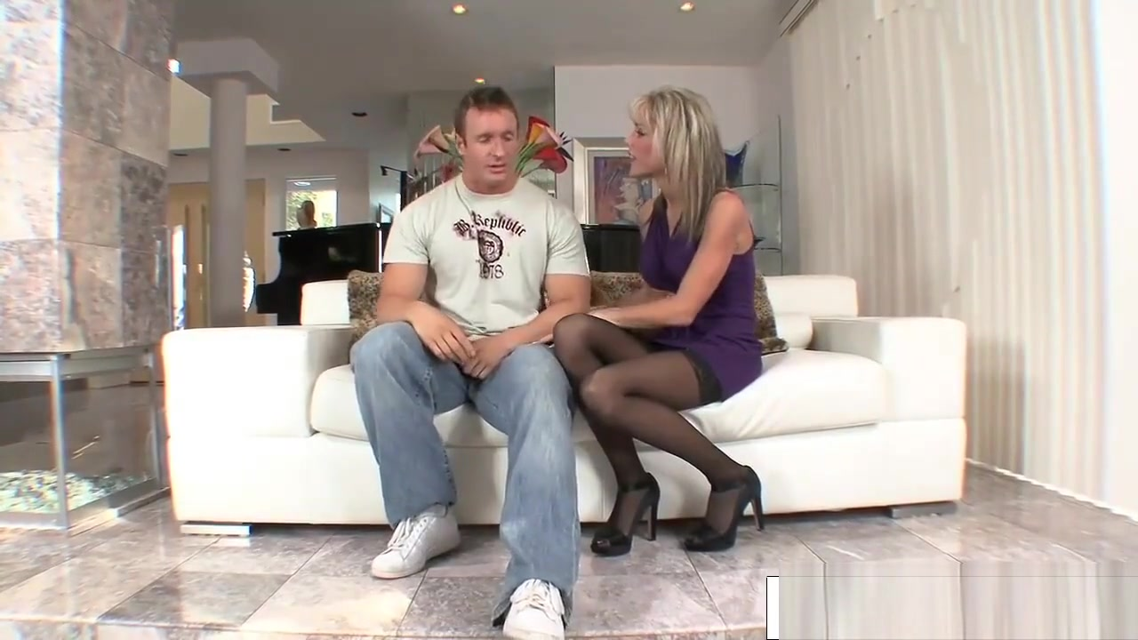 Adult videos Sweaty sex with natural European blonde