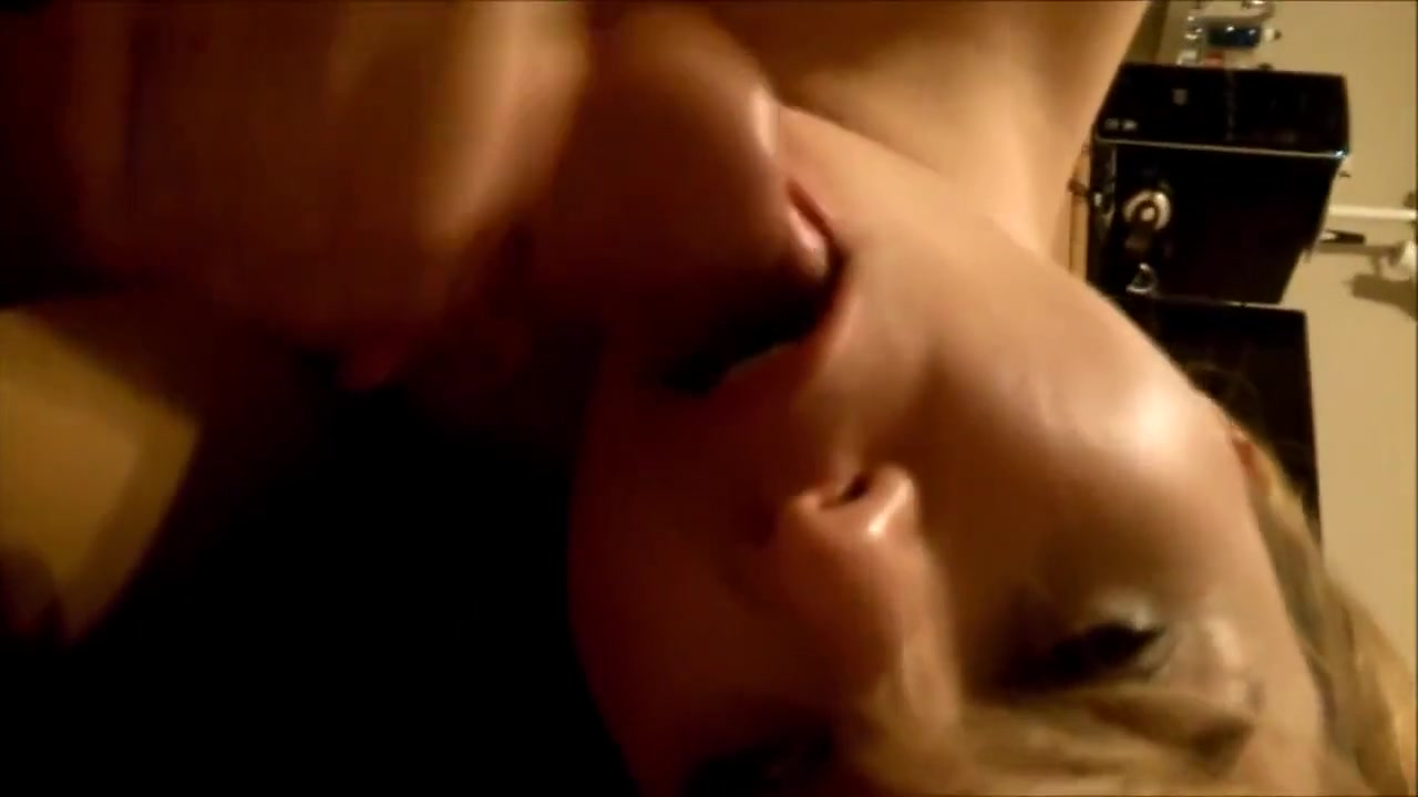 Quality porn Blonde lesbians licking each other after stripping