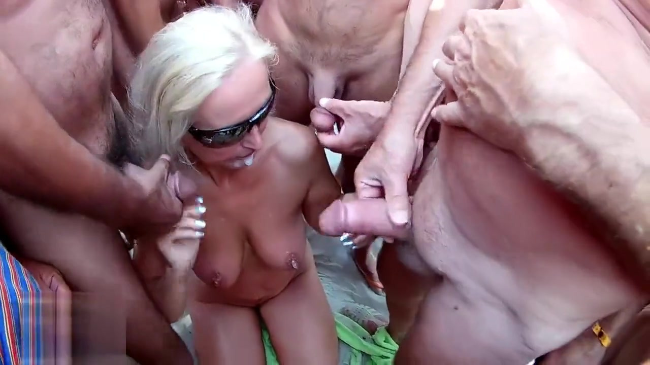 Big Tits Angel Loves A Gangbang Nude 18+
