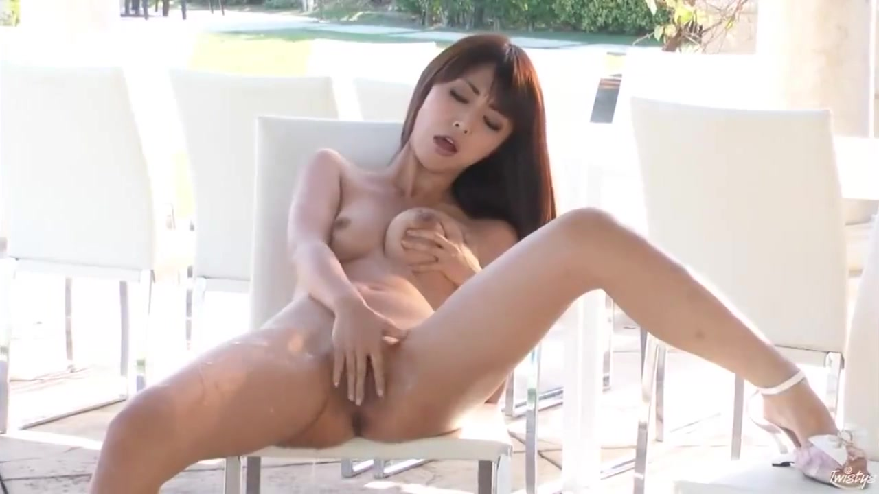 Porn pictures Girl Dildo Outside