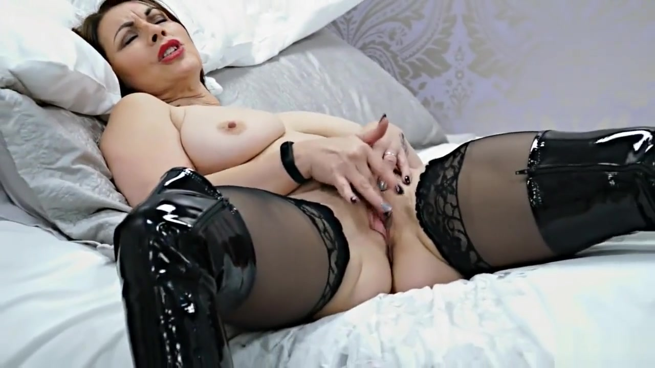 Women sexy stocking & boots part 3 Nasty hot indian sex pussy