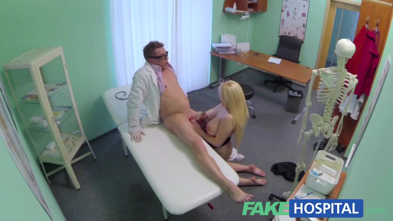 FakeHospital Sexual therapy causes patient to squirt Cigarette bdsm poor jade jantzen.