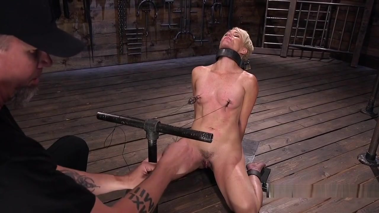 Blonde In Bondage Gets Nipples Tortured www car blow jobs
