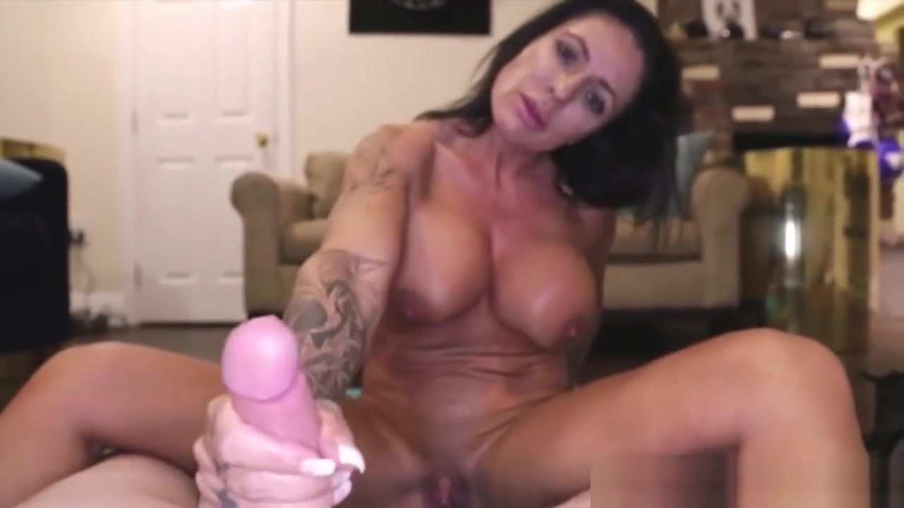 Porn pic Dominant milf masseuse jerking and slapping