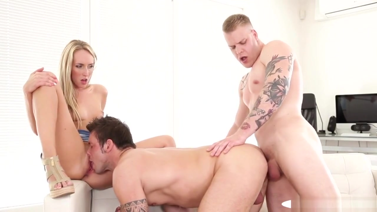 Ripped Stud Banged While Pussylicking