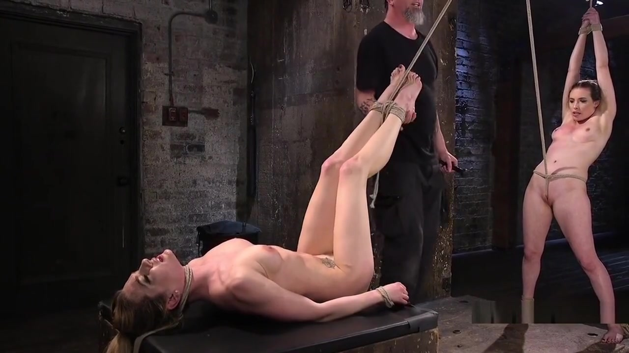 Two Naked Slaves In Bondage Whipped Sheila marie porn