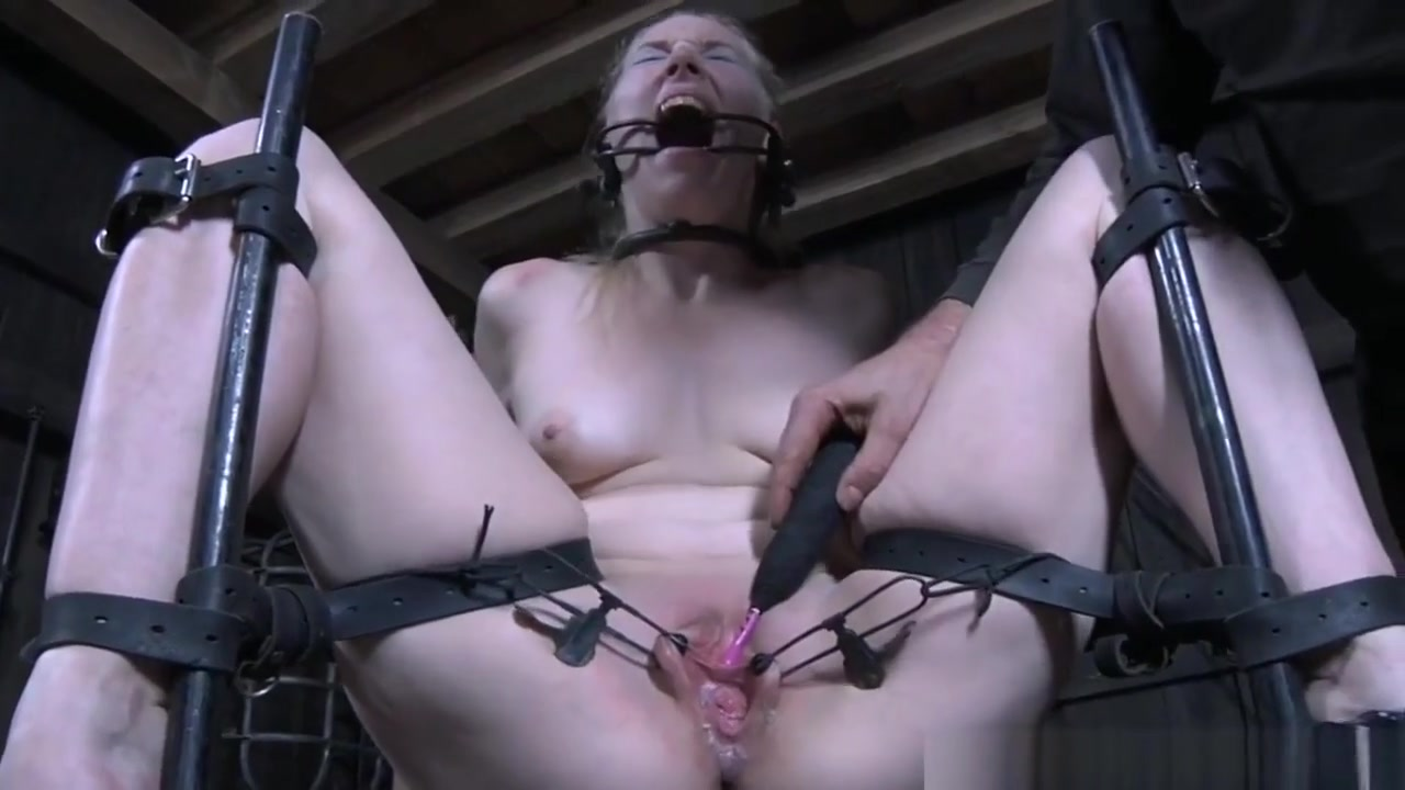 Restrained Sub Pussytoyed And Gaped Ginger porn photos