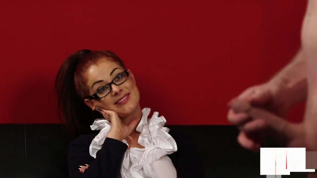 Spex Cfnm Voyeur Gives Wanking Instructions Our home porn