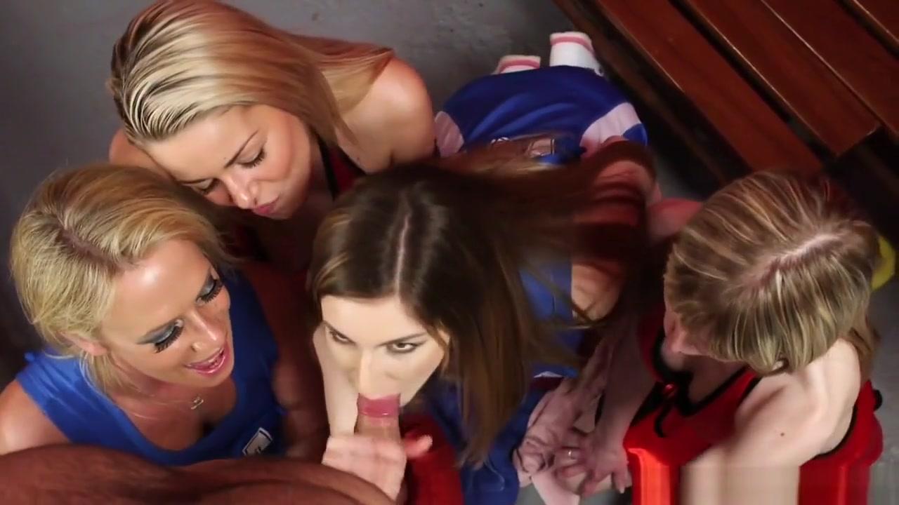 Cfnm Cheerleaders Suck Cock At Locker Room practice sex with friends