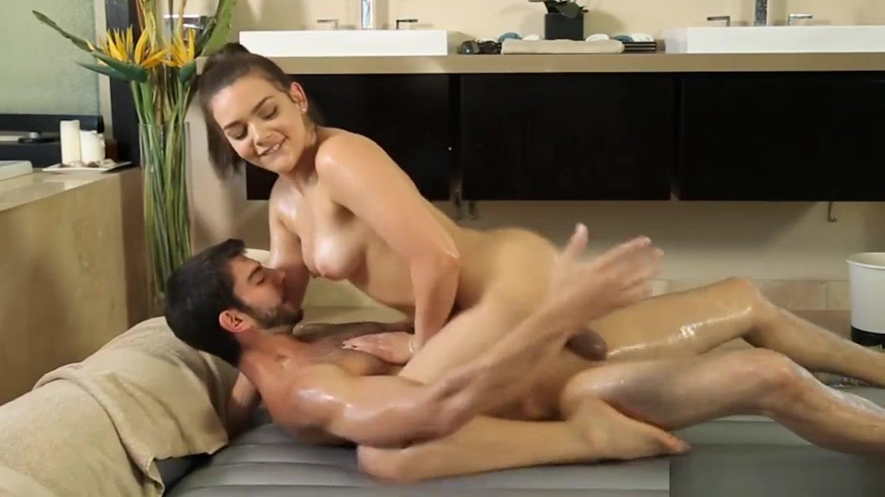 Masseuse Gives Her Cousin A Nuru Massage Then Gets Pounded