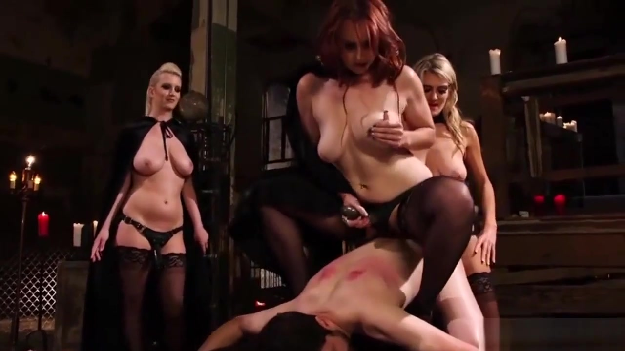 Sluts Get To Dominate Their Slave