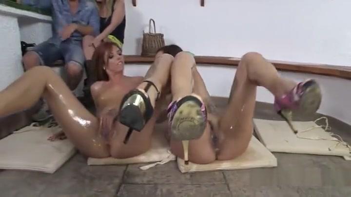Fuckin vide fucked Lesbios
