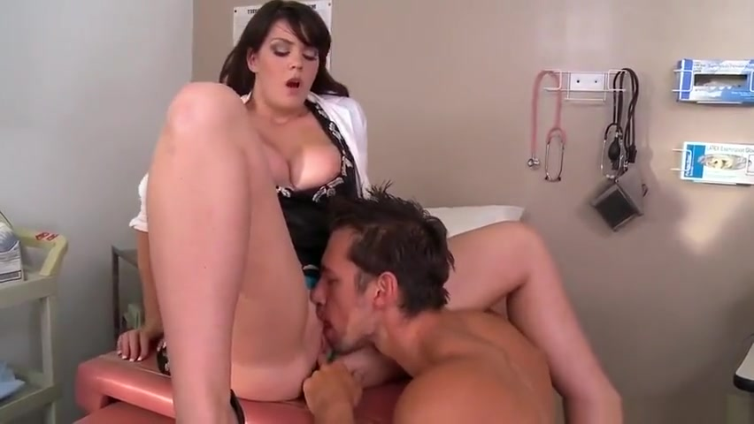 Ambrosial brunette Alison Tyler giving very hot blowjob Thick big tit women