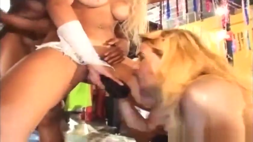 All porn pics Brute fucks babe's throat while twisting her arms