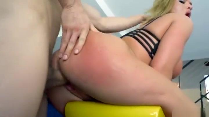 Adorable busty Krissy Lynn blows the cock