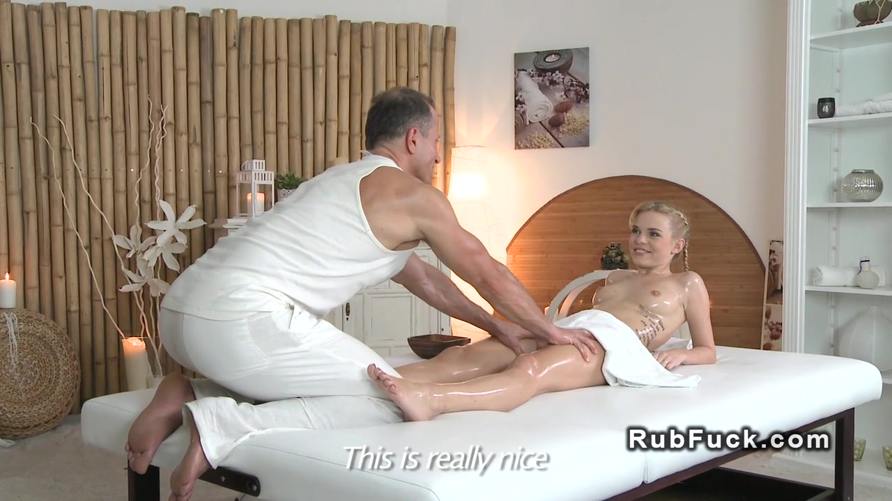 Masseur bangs tattooed blonde fetish euro girl next door squirt