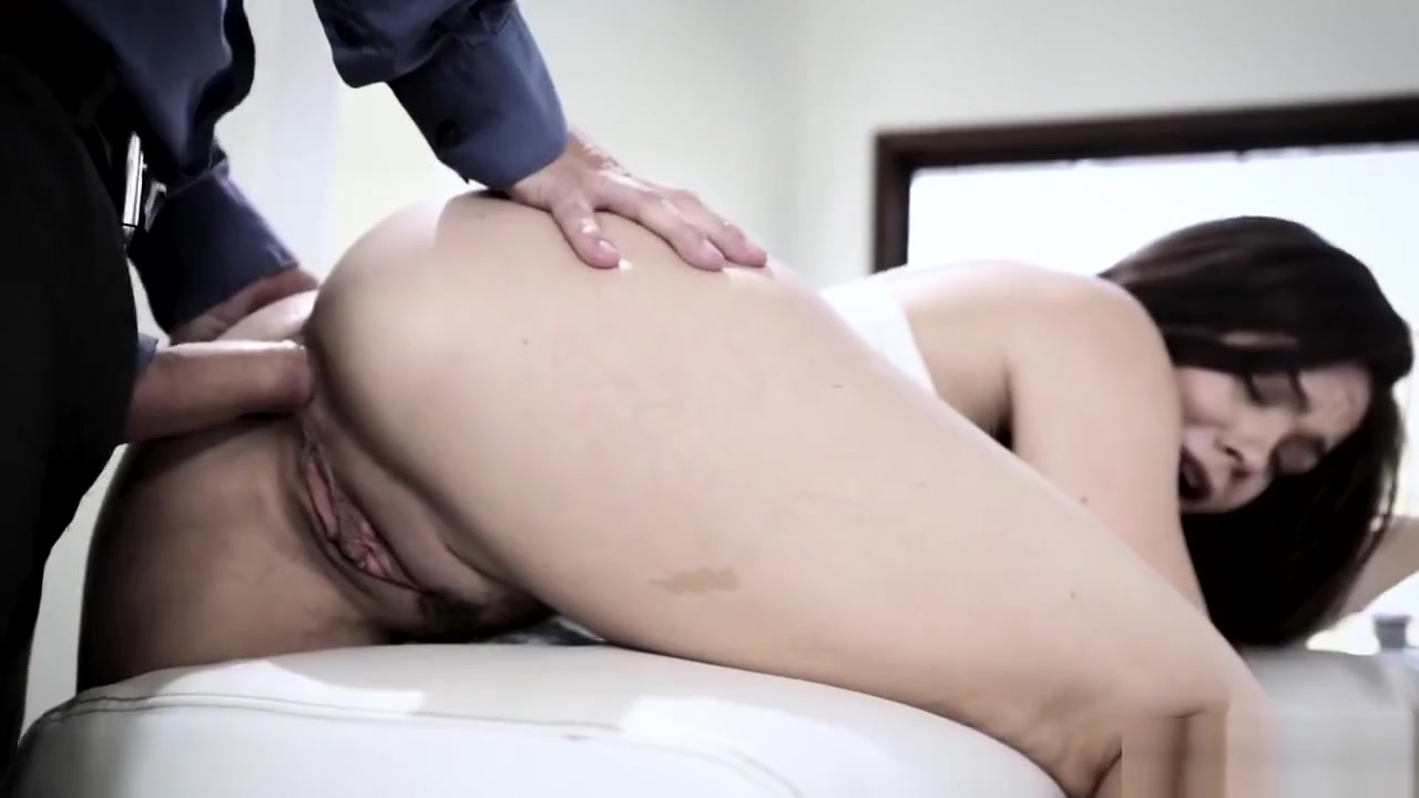 Kimber Woods Ass Plowed By Stepdaddys Cock