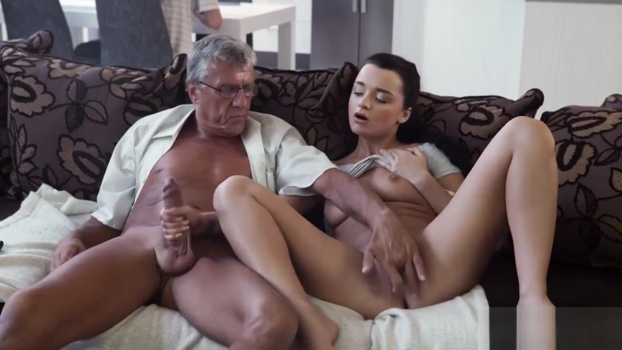 Old Guy Seduce A Teen What Would You Choose - Computer Or Yo
