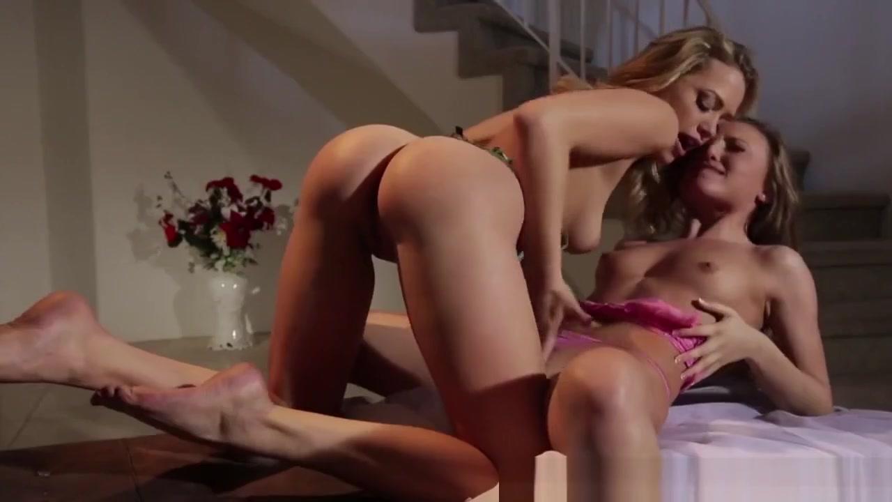 Classy Lesbians Rubbing Each Others Clit