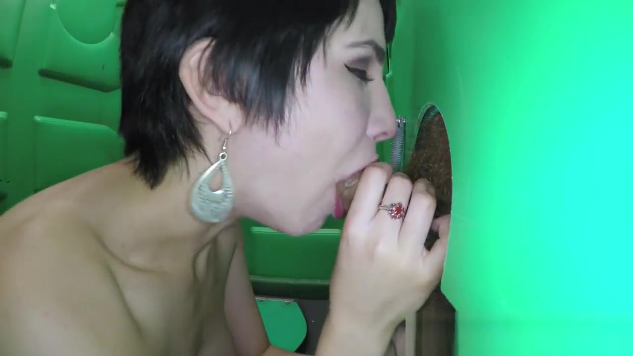 Short Haired Beauty Swallows Cum From Strangers In Public Free Xxxporn Videos