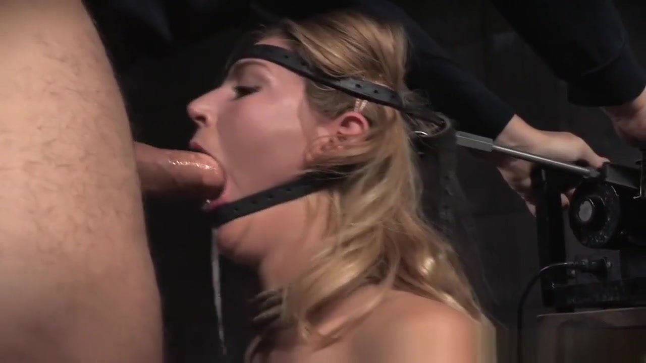 Head Bondage Submissive Gets Throat Fucked What do you want from me singer
