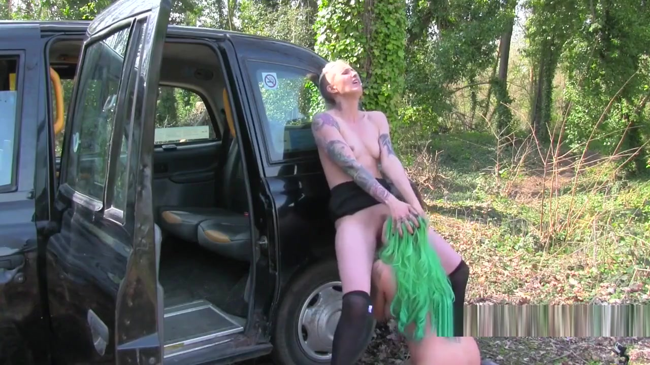 Two Hot Inked Lesbians In Fake Taxi Britney picture spear upskirt