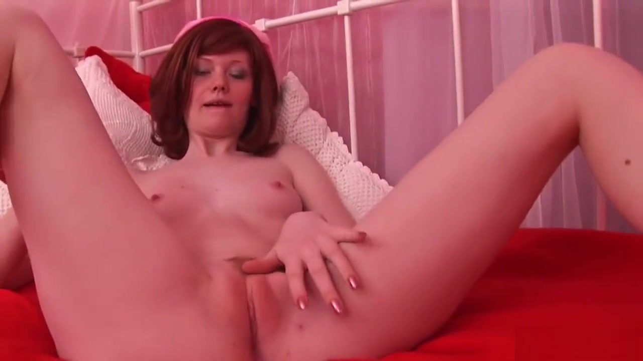 Red Haired Emmy Likes Masturbating A Lot